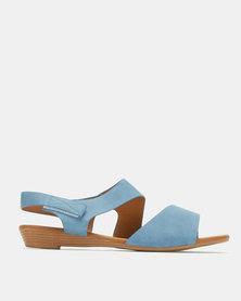 Butterfly Feet Alva Wedges Blue