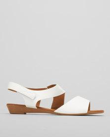 Butterfly Feet Alva Wedges White