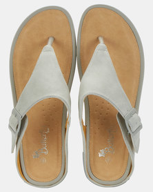 Butterfly Feet Percy Wedges Grey