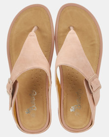 Butterfly Feet Percy Wedges Salmon
