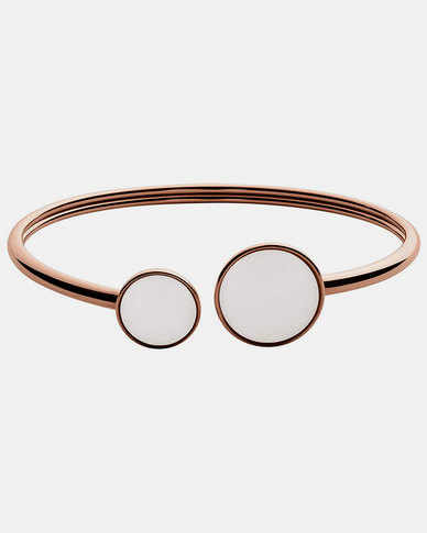 Skagen Sea Glass SS Bracelet Rose Gold