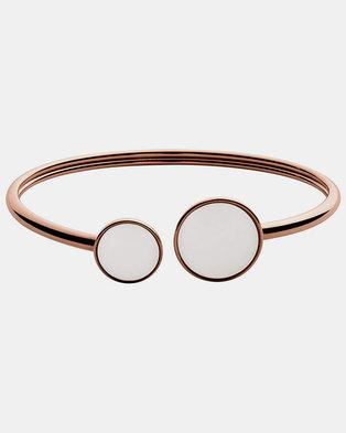 Skagen Sea Glass SS Bracelet Rose Gold