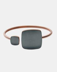 Skagen Sea Glass Steel Bracelet Rose Gold