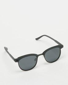 UNKNOWN EYEWEAR Bazurka Polarised Sunglasses Black