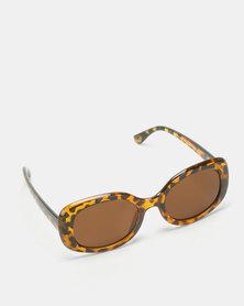 UNKNOWN EYEWEAR Scope Sunglasses Tort