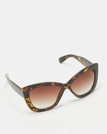 UNKNOWN EYEWEAR Masie Sunglasses Dark Tort