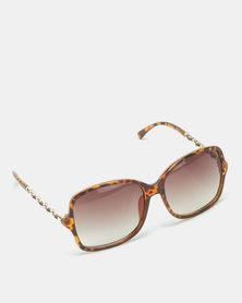 UNKNOWN EYEWEAR Brighton Sunglasses Brown
