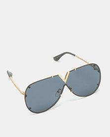 UNKNOWN EYEWEAR Vee Sunglasses Black