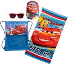 Disney Cars Fun Beach Towel Sunnies & Cap Set