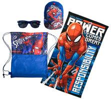 Spiderman Fun Beach Towel Sunnies & Cap Set