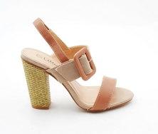 LaMara Paris Cori sandals salmon pink
