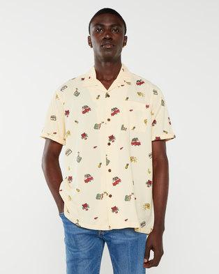 Hurley Kingston Shirt Pale Yellow
