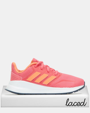 adidas Performance Girls Real Runfalcon Sneakers Pink