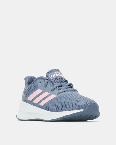 adidas Performance Girls Raw Runfalcon Sneakers  Indigo