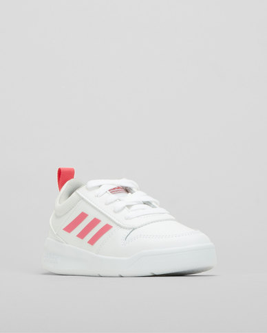 adidas Performance Girls Grand Court Sneakers White/Real Pink
