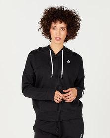 Reebok Performance Linear Logo Fullzip Sweatshirt Black