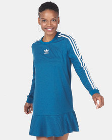 adidas Originals Tee Dress Blue