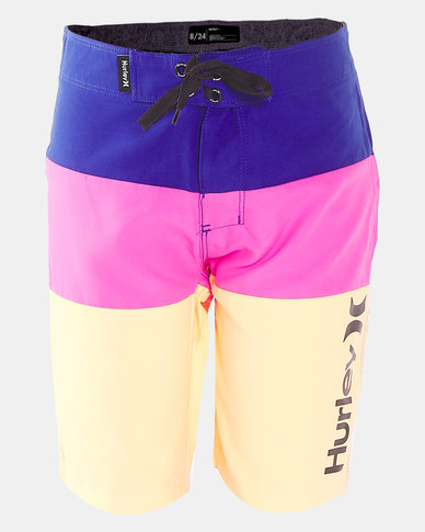 Hurley HRLB Triple Threat Boardshorts Deep Royal Blue