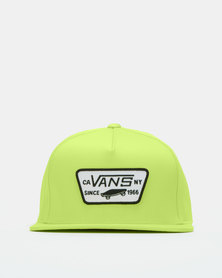 Vans Full Patch Snapback Green