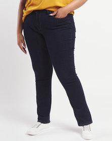 Levi's ® Curvy Straight Jeans Island Rinse