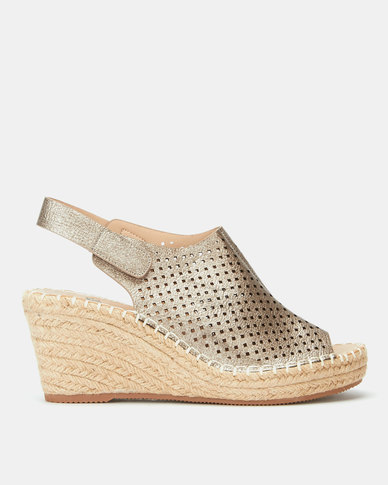 Butterfly Feet Marretimo Wedges Pewter