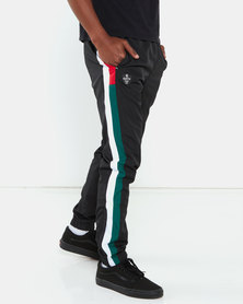 Cutty Launch Trackpants Black