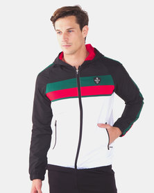 Cutty Launch Zip Through Track Top with Hood Multi