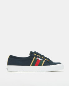Superga Fashion Canvas Lo Sneakers Navy