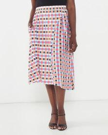 African Style Story Setubal Skirt Yellow