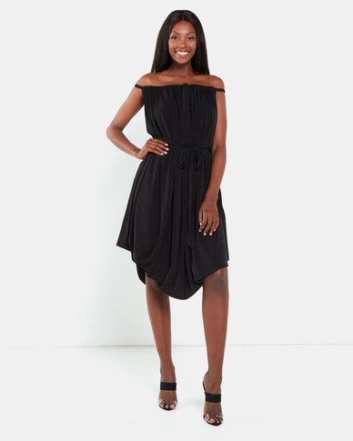 Erre The Myri Dress Multiway Dress Black