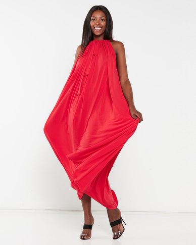 Erre The Myri Dress Multiway Dress Red