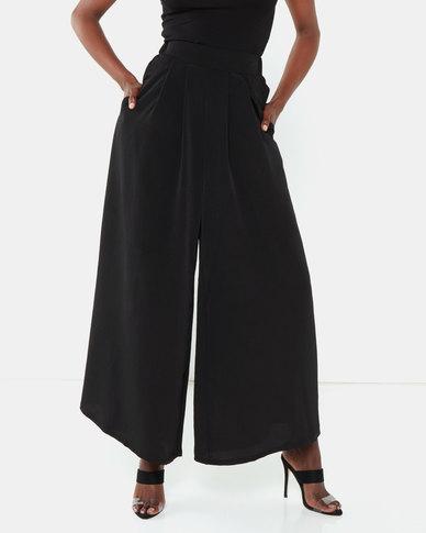 Erre Stride Wide Leg Pants Black
