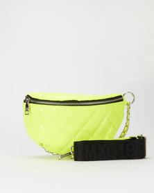 Steve Madden Bchrome Waist Bag Yellow