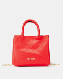Steve Madden Bcyndy Satchel Bag Red