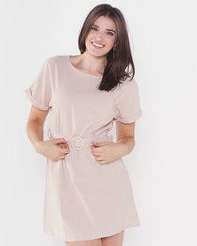Utopia Tunic Dress Oatmeal