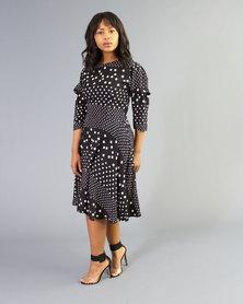 Bela Moca Boutique Polka Dot Dress