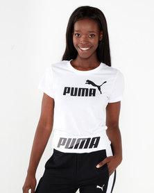 Puma Sportstyle Core Amplified Tee Puma White
