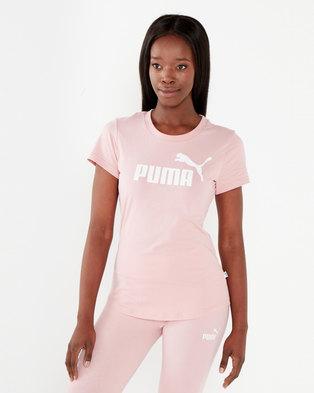 Puma Sportstyle Core Amplified Tee Bridal Rose