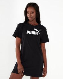 Puma Sportstyle Core ZA Essentials Logo Tee Dress Puma Black
