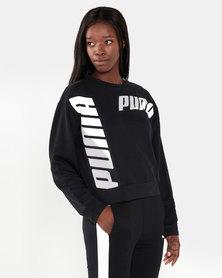 Puma Sportstyle Core Modern Sport Crew Sweat Puma Black