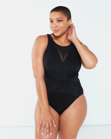 Miracle Suit Illusionists Palma One Piece Black