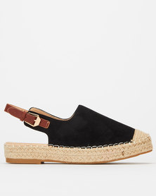 Footwork Abeeda Flats Black