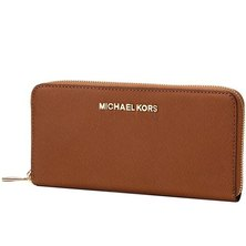 Michael Kors Women's Leather Long Wallet 32S3GTVE3L LUGGAGE