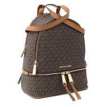 Michael Kors Women's MK Rhea Zip PVC Backpack 30S7GEZB1B