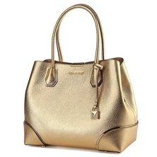 Michael Kors Women's Gold Leather Handbag 30H7MZ5T6M