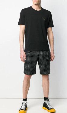 Love Moschino  Peace Sign T-shirt M47318AE1811   Black