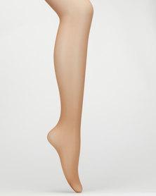 Falke 15 Bright Silk Sun Ladies Pantyhose Gold