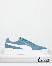 Puma Sportstyle Core Carina Sneakers Bluestone-Puma White