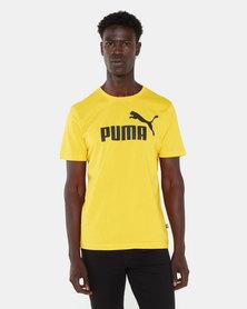 Puma ESS Logo Tee Sulphur
