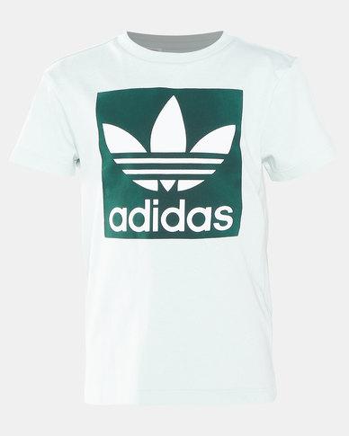 adidas Originals Boys Trefoil Tee Multi